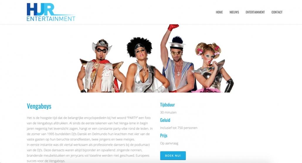 HJR entertainment website